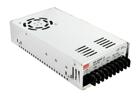 Przetwornica DC-DC Mean Well SD-350C-48 350W 7.3A | 48V ► 36~72 VDC