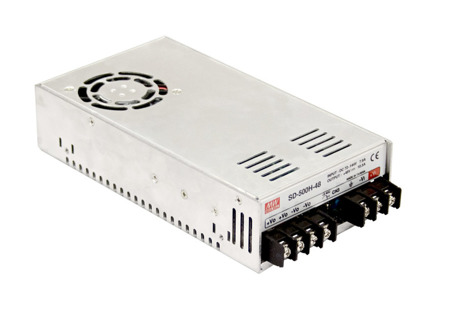 Przetwornica DC-DC Mean Well SD-500H-48 504W 10.5A | 48V ► 72~144 VDC