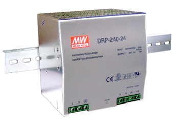 ZASILACZ DIN MEAN WELL DRP-240-48 48V/5A 240W PFC
