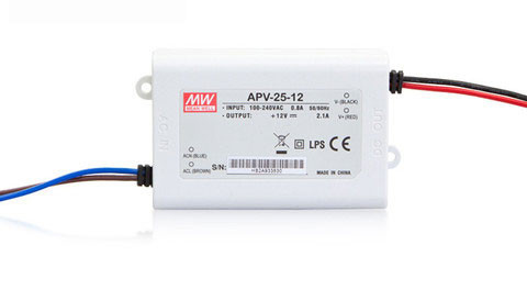 Zasilacz LED Mean Well APV-25-24 | 24V 1A 25W