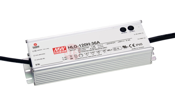 Zasilacz Mean Well HLG-120H-20 | 120W 20V 6A IP67