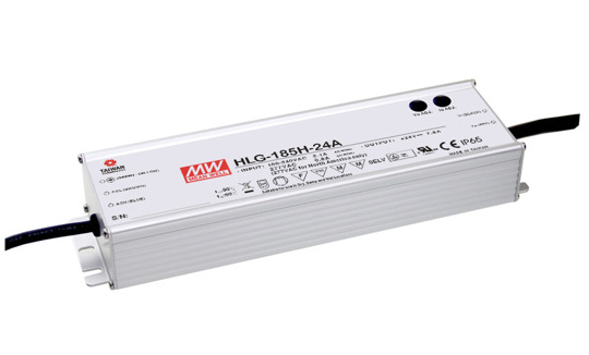 Zasilacz Mean Well HLG-185H-15 | 172W 15V 11.5A IP67