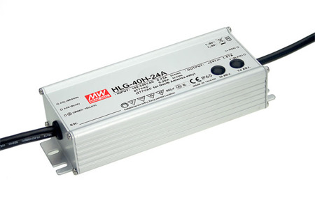 Zasilacz Mean Well HLG-40H-24A | 40W 24V 1.6A | 22~27V IP65