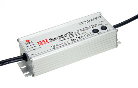 Zasilacz Mean Well HLG-60H-20 | 60W 20V 3A IP67