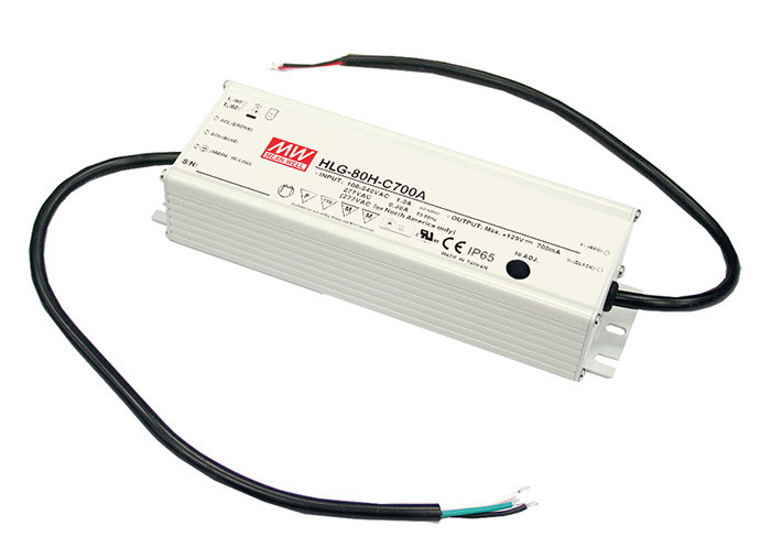 Zasilacz Mean Well HLG-80H-24B | 81W 24V 3.4A | IP67 1~10VDC PWM