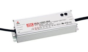 Zasilacz Mean Well HLG-120H-54B | 124W 54V 2.3A | IP67 1~10VDC PWM
